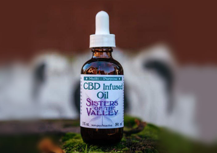 Sisters Of The Valley CBD Infused Oil
